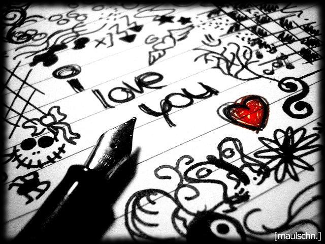 Draw I Love You Dont Say To